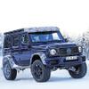 メルセデス Gクラス 4×4スクエアード 後継モデル、開発終盤か…新色ブルーで威風堂々