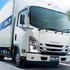 いすゞ エルフ 改良新型発売、交差点警報を搭載…国内小型トラック初