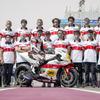 伝統の赤白スピードブロック、世界選手権参戦60周年カラーのヤマハ『YZR-M1』初披露
