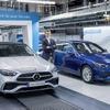 メルセデスベンツ Cクラス 新型、生産開始…最新デジタル工場で