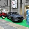 CX-8とCX-30を展示、「ペットとの豊かな生活」を提案するマツダ…ペダルカーのフォトスポットも【インターペット2021】