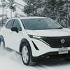 日産の新型EV『アリア』、プロトタイプが開発テスト
