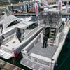 ヤンマー、フラッグシップ EX34-HT と EX38-FB を展示、インテリアアレンジのサンプルコーナーも…ジャパンボートショー2021
