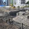 「高輪築堤」の保存方針がまとまる…鉄道開業時の遺構が東京で出土