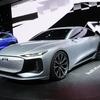 アウディ A6コンセプト、ポルシェと共同開発の次世代EV車台を初搭載…上海モーターショー2021