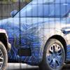 マセラティの新型SUV『グレカーレ』、実車をスクープ!大きなヘッドライトがくっきり