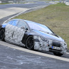 メルセデスベンツのスーパーEVサルーン『AMG EQS』、プロトタイプがニュル出現