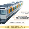 電車の冷房はAIが制御…JR東海の新通勤型315系 優しさと安心感のインテリア
