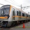 京成のミステリーツアー、3100形が芝山鉄道と東成田スカイライナー用ホームに入線[フォトレポート]