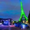 トヨタ MIRAI の燃料電池技術、エッフェル塔を照らす…定置型水素発電機で