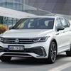 VW ティグアン 改良新型、LWBの「オールスペース」も表情一新…予約受注を欧州で開始