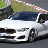 BMW M8ベースの新型スーパーカー?限定モデル? 謎の開発車両がニュルへ