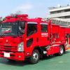 いすゞ車体、スマートポンプ消防車を開発…電動モーターで1時間放水可能