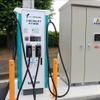 公道にEV用充電器を設置 実証実験が横浜市でスタート