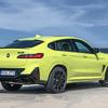 BMW X4 に改良新型に最強「M」、0-100km/h加速は3.8秒に短縮…欧州発表