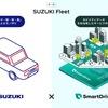 スズキ、スマートドライブと提携して法人向け車両管理サービス提供
