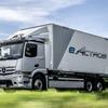 メルセデスベンツ、新型EVトラック『eアクトロス』発表…航続は400km