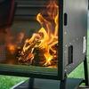 キャンピングカーと一緒にレンタル、焚き火と料理が楽しめる「タキビクッカー」