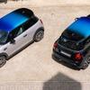 MINIの3車種に「3色ルーフ」、グラデーション塗装でカスタマイズ…欧州設定