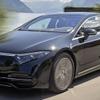 メルセデスベンツ EQS、ツインモーターは523馬力…受注を欧州で開始