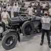 ベントレー『ブロワー』、90年ぶりに12台を復刻生産…最初の1台が完成