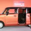 【スズキ ワゴンR スマイル】鈴木社長「両側スライドドアで笑顔にする」…月間5000台を計画