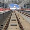 西九州新幹線のレールがすべて繋がる…長崎駅構内で敷設完了