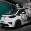 フォルクスワーゲンの電気ミニバン『ID.BUZZ』、プロトタイプが姿を現す…IAAモビリティ2021