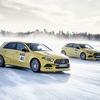 メルセデスAMG「アイスタクシー」、スウェーデンの氷上で開催へ…最強のAクラスも用意