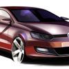 【VW ポロ 新型発表】シンプルなデザイン