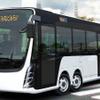 慶應大、EVバスを公開…エリーカを応用