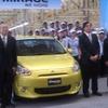 三菱自動車、タイで ミラージュ のラインオフ式を開催