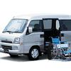 【東京モーターショー04】サンバーはクラス唯一のサイドリフト
