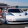 【モータースポーツジャパン12】日産 リーフ NISMO RCでプロのドライブを体感