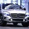 メルセデスベンツから コンセプトGLA…Aクラス 派生の小型SUV[動画]
