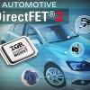 IRジャパン、両面放熱可能なDirectFET2パッケージの車載用パワーMOSFETを発売