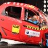 タタの超低価格車、ナノ …インドの衝突安全テストに失格