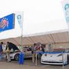 """e燃費・レスポンスがサーキット初出展…テスラ モデルS&リーフRCで""""EV攻め"""""""