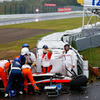 "F1日本GPで事故のビアンキ、""びまん性軸索損傷""と診断…家族が声明"