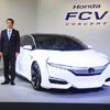 【ホンダ FCVコンセプト 発表】伊東社長「念には念を入れて」…投入は2015年度中に
