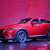 【マツダ CX-3 発表】ワールドプレミア、Bセグクロスオーバーに切り込む世界戦略車