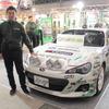 【東京オートサロン15】テイン、新型 WRX STI で全日本ラリーに参戦…ドライバーは鎌田卓麻