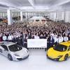 マクラーレン の「スーパーシリーズ」、累計生産5000台… 4年で達成