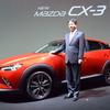 【マツダ CX-3 発売】小飼社長「次世代のスタンダードモデルとして自信をもって提案」