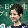 【写真蔵】お茶目な宮沢りえさん…トヨタ ヴィッツ 新作CM発表会