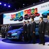 【上海モーターショー15】開幕、世界最大市場にそれぞれのアピール…セダン、SUV、環境対応車も