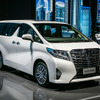 【上海モーターショー15】トヨタ アルファード 新型、中国初公開
