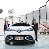 【上海モーターショー15】中国上海汽車、自動運転SUV『MG iGS』を初公開