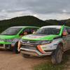 【アジアクロスカントリーラリー15】アウトランダーPHEV のクラス優勝を支えた伴走車「デリカD:5」