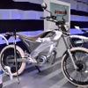 【東京モーターショー15】環境に優しく走りも楽しい、ヤマハの電動トレッキングバイク